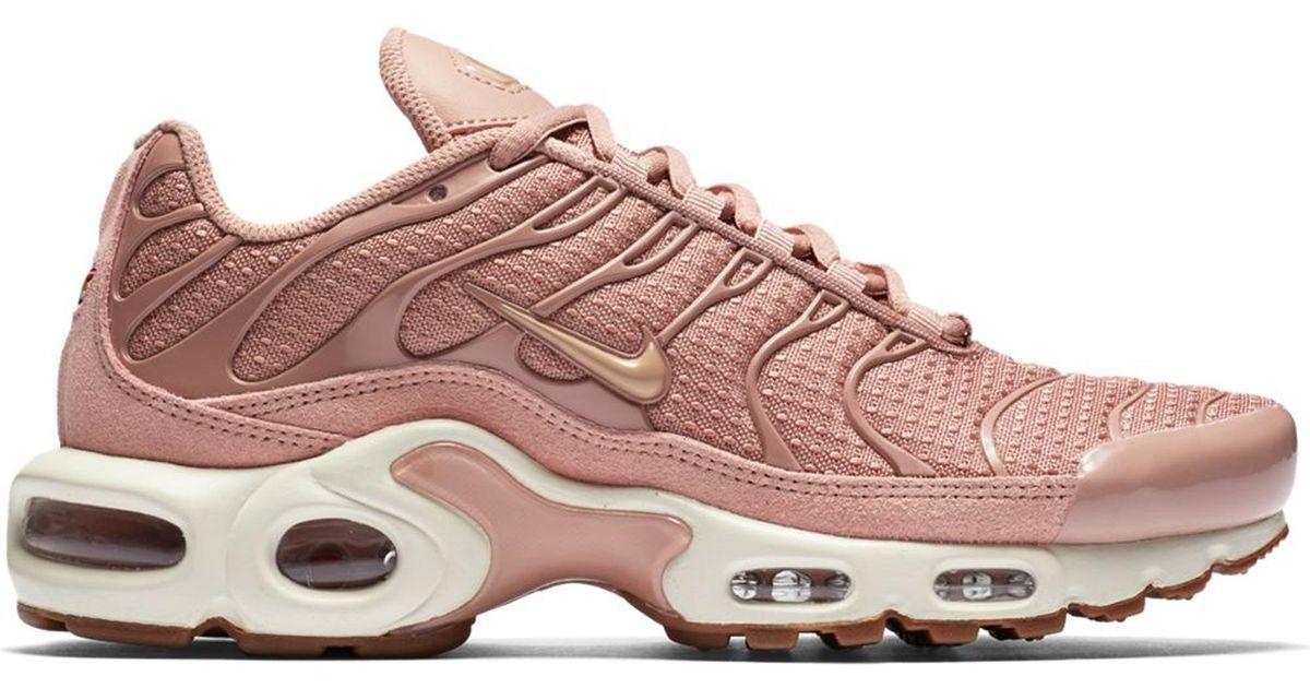 nike air max plus pink particle