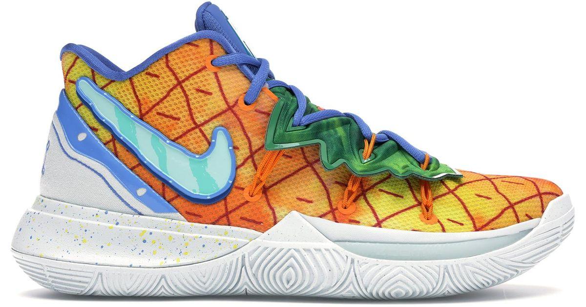 Nike Kyrie 5 Spongebob Pineapple House