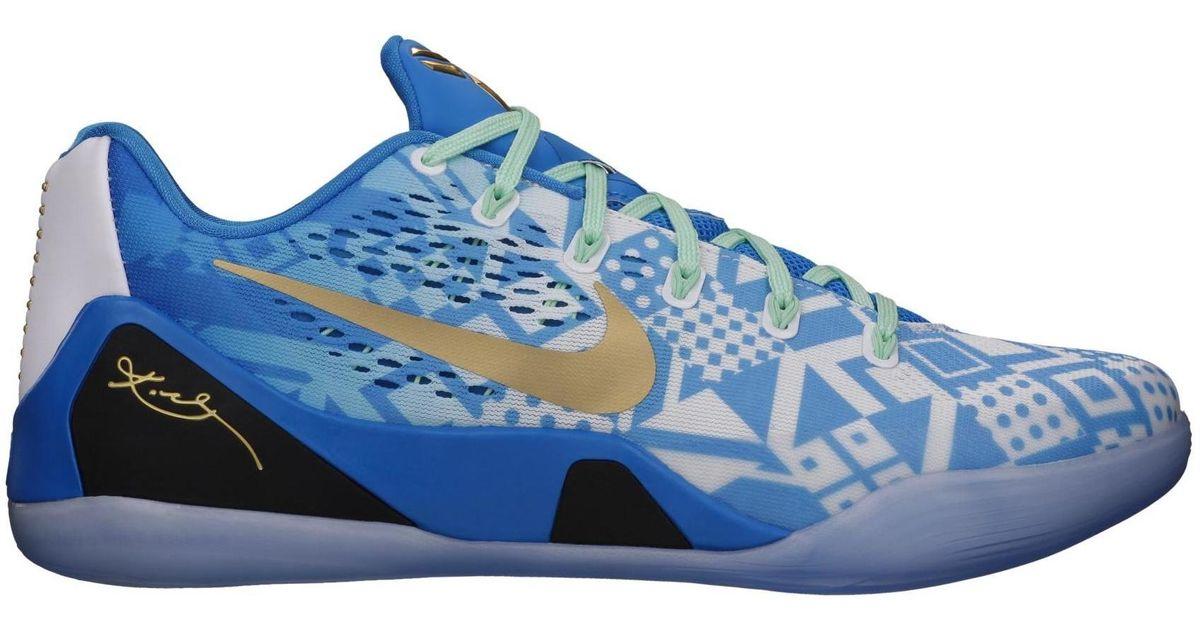Nike Kobe 9 Em Low Hyper Cobalt in Blue