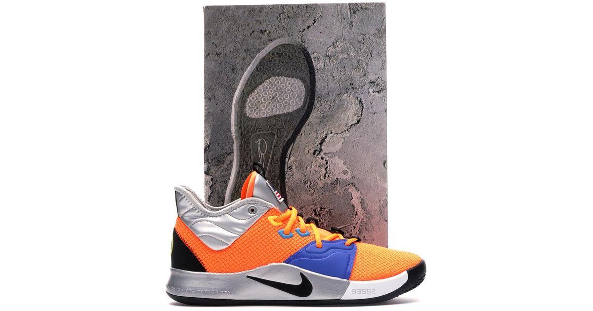 Nike Pg 3 Nasa (finishline Special Box