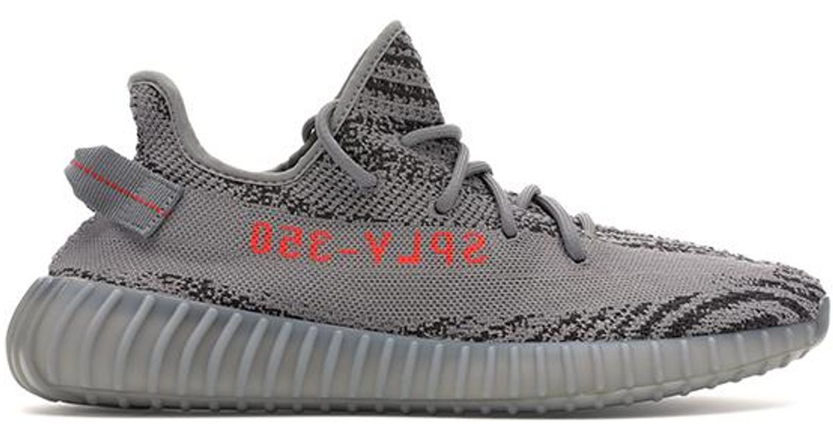 reputable site 9d682 dbaa9 Adidas Gray Yeezy Boost 350 V2 Beluga 2.0 for men