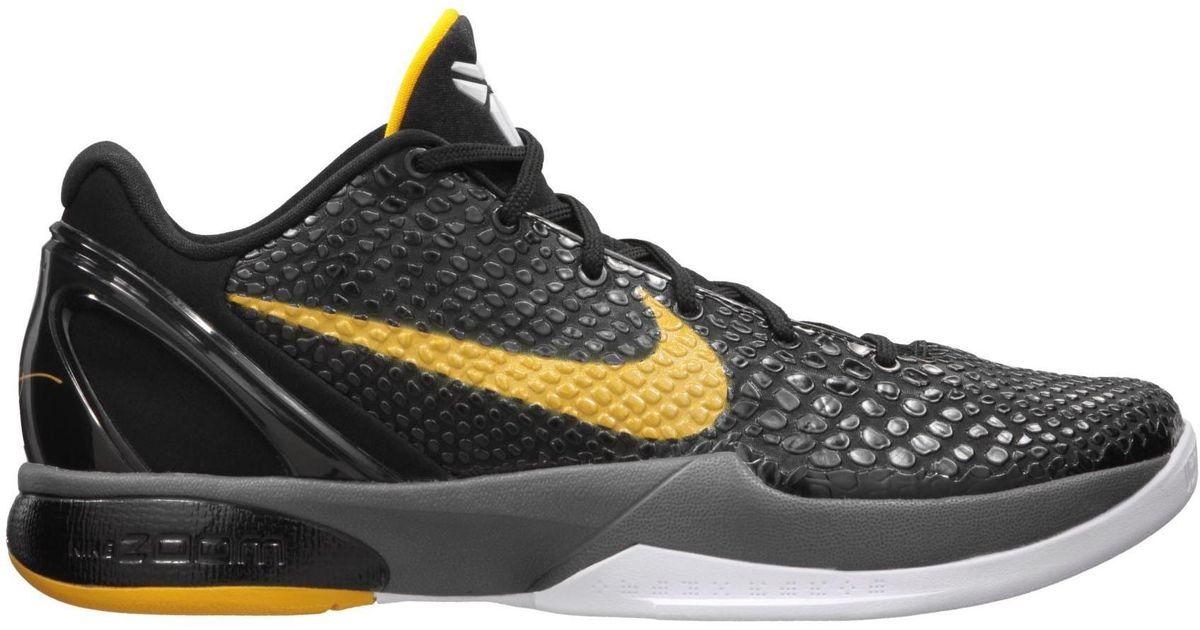 Nike Kobe 6 Black Del Sol for Men - Lyst
