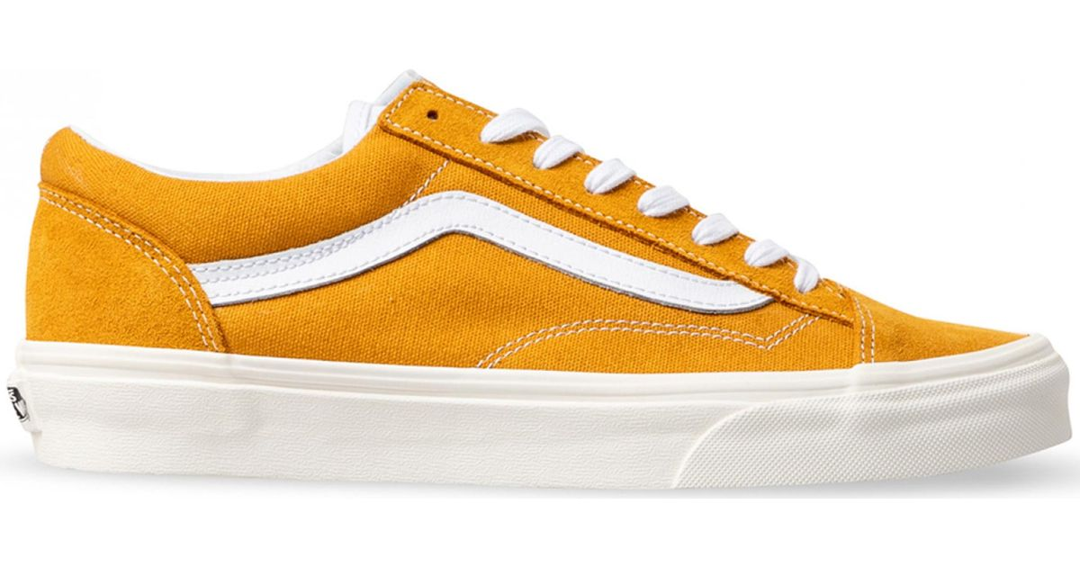 Vans Style 36 Sunflower in Yellow for