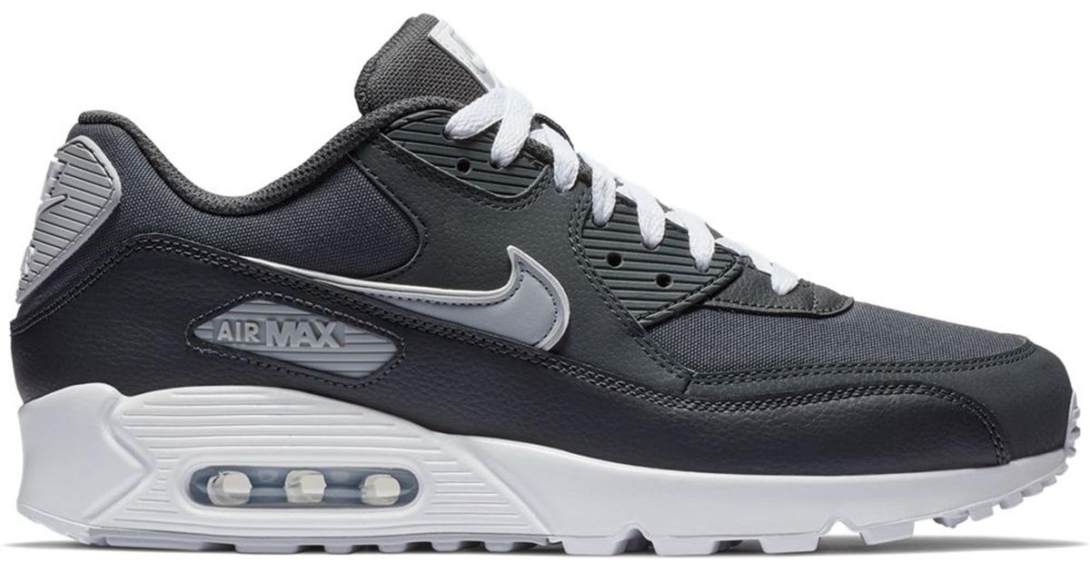 nike AIR MAX 90 ESSENTIAL BLACKWHITE ANTHRACITE WOLF GREY