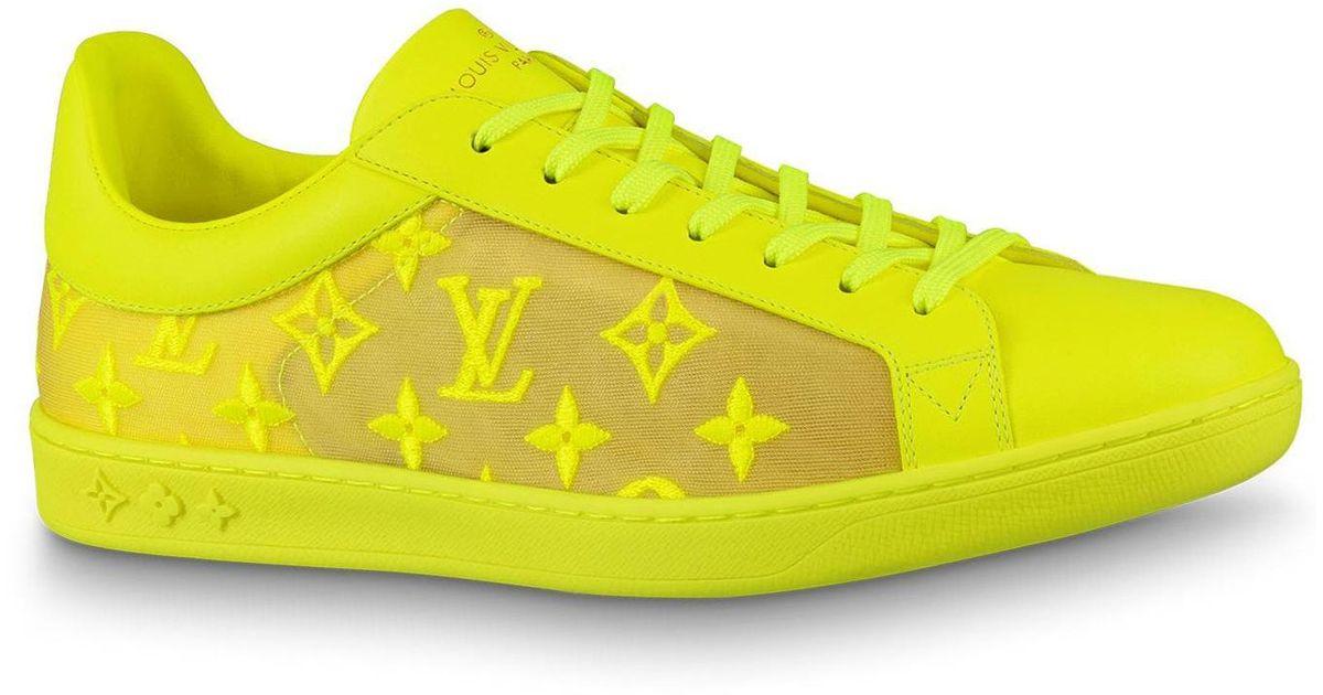 Louis Vuitton Luxembourg Tattoo Yellow