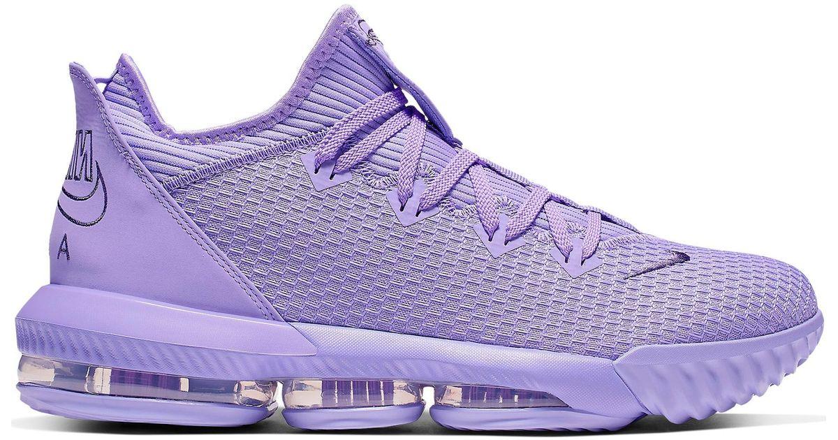 Nike Lebron 16 Low Atomic Violet in