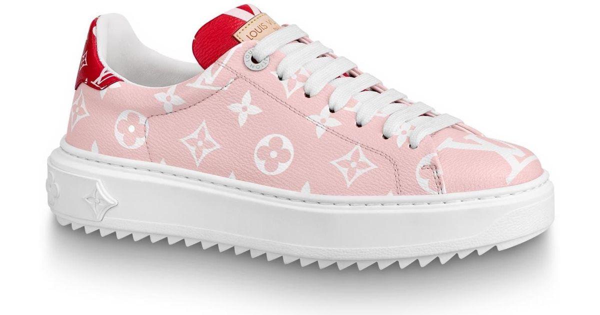 pink louis vuitton shoes