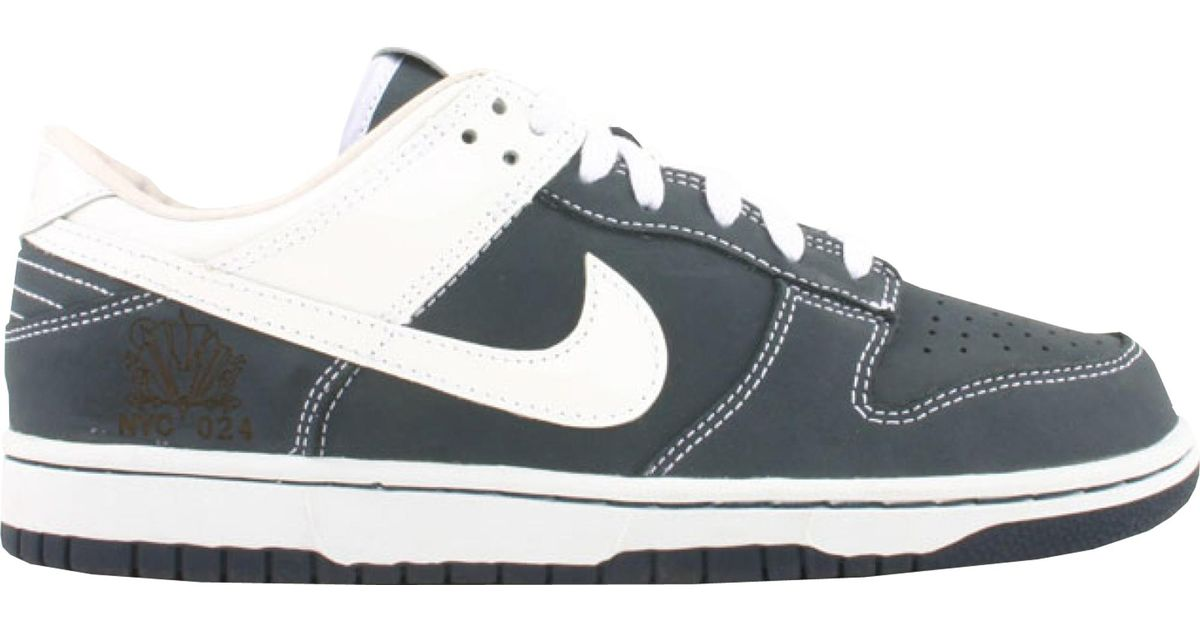 site réputé b79ad 2fe29 Nike Blue Dunk Low Yankees (sole Collector) for men