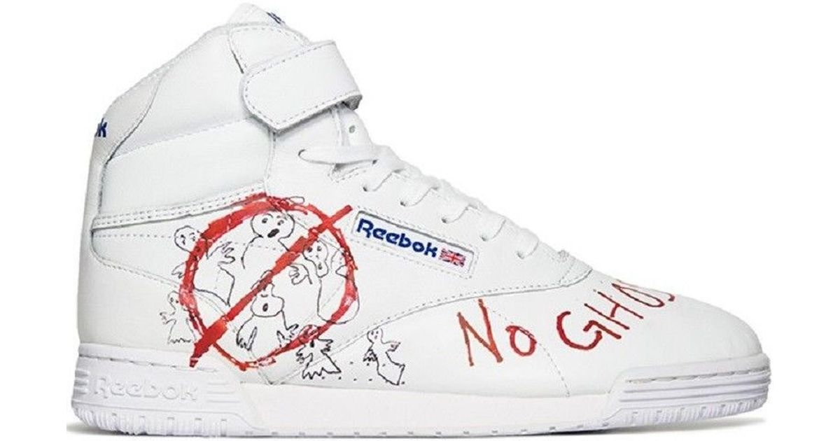 dc47a845d6f Lyst - Reebok Ex-o-fit Clean Hi Bait X Ghostbusters X Stranger Things in  White for Men
