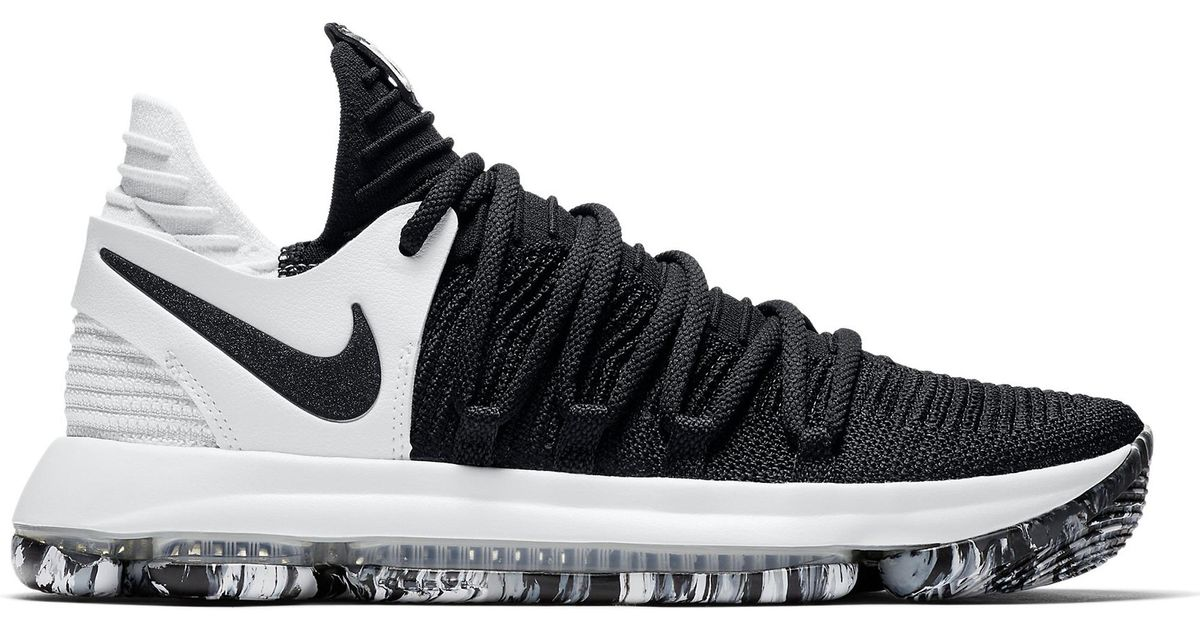 finest selection 5088a 77a43 Nike Kd 10 Black White for men