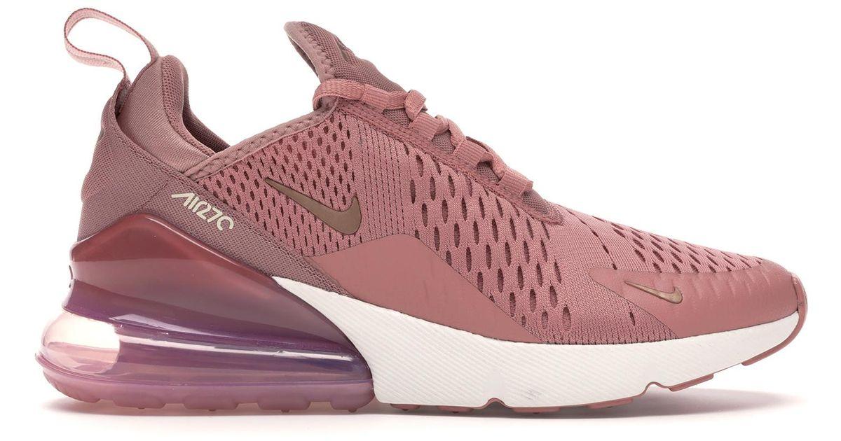 alineación Diez años tal vez  Nike Air Max 270 Rust Pink (w) - Lyst