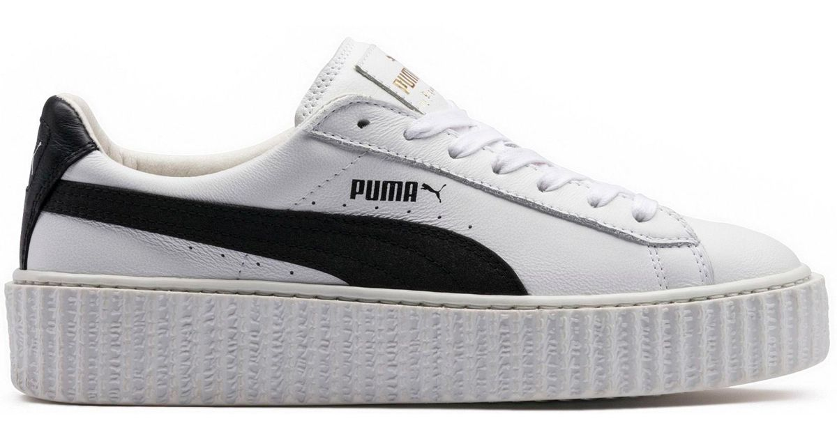 best sneakers fb688 23e01 PUMA Creeper Rihanna Fenty Leather White for men