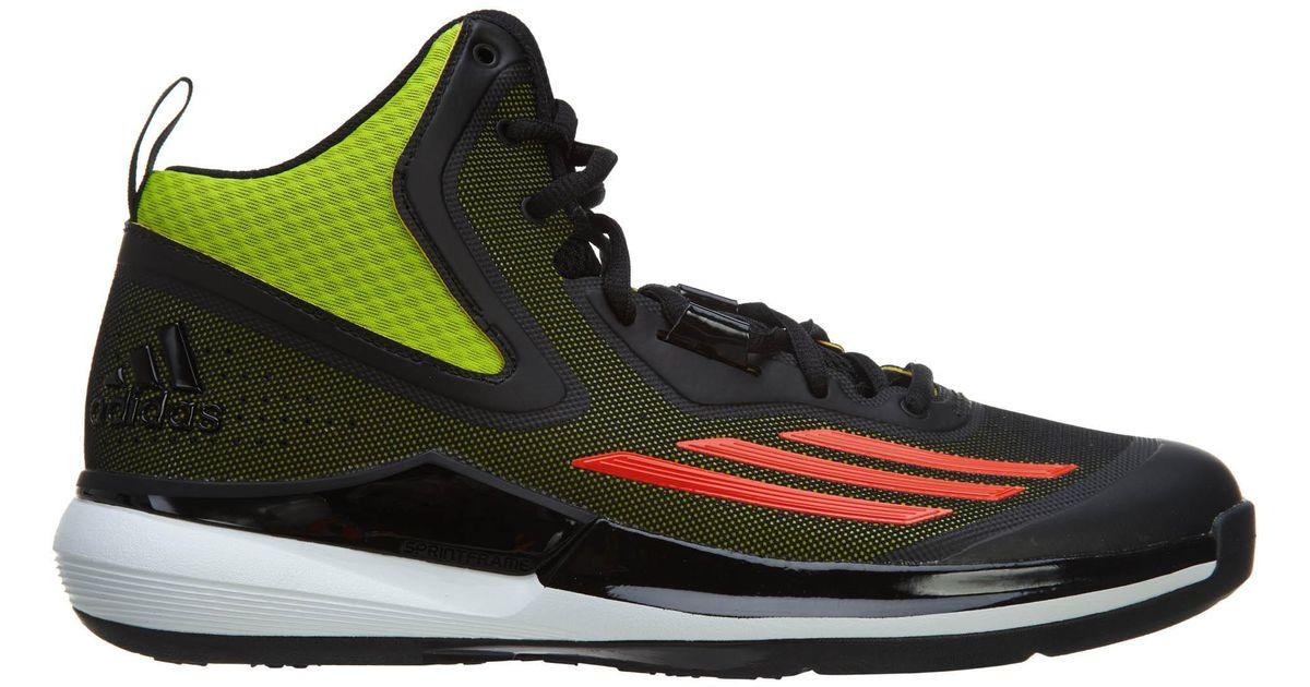 Adidas Multicolor Title Run Basketball Shoe for men