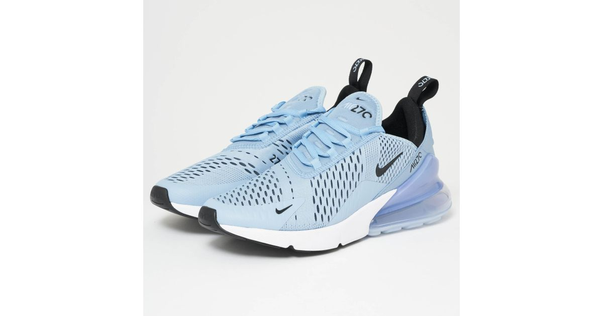low priced 5dd78 d8712 Nike Air Max 270 - Leche Blue, Black & White for men