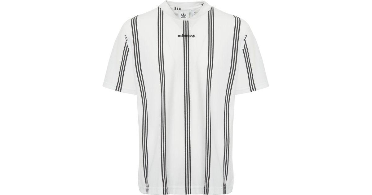 black and white striped adidas shirt a52d43