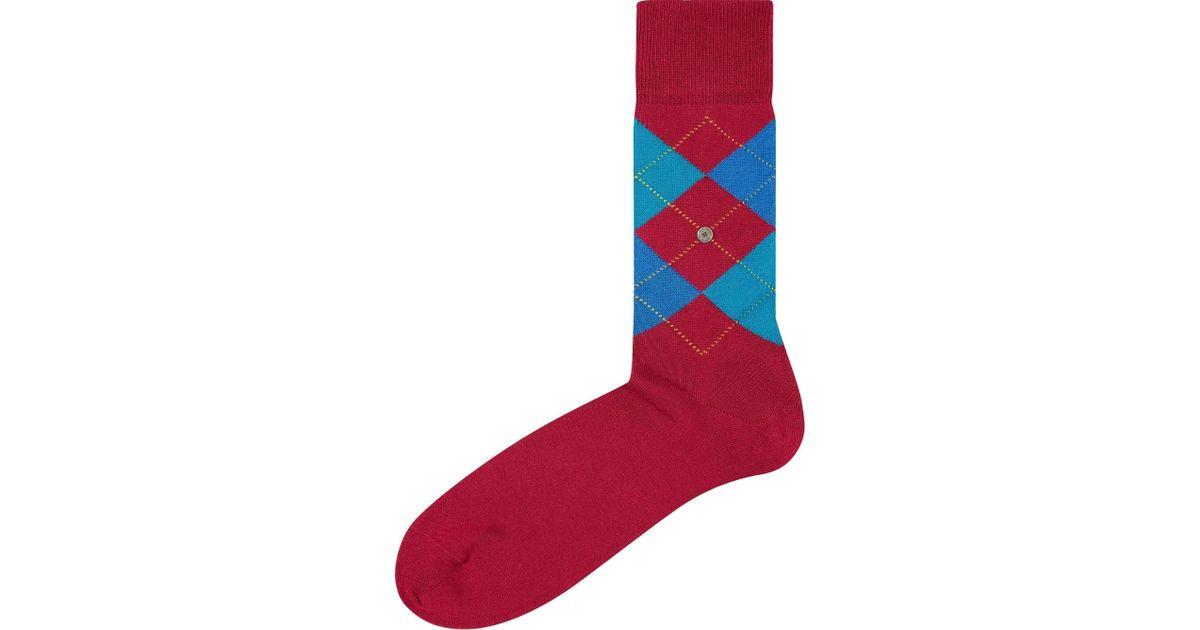 2ed107044 Burlington Purple Manchester Socks in Purple for Men - Lyst