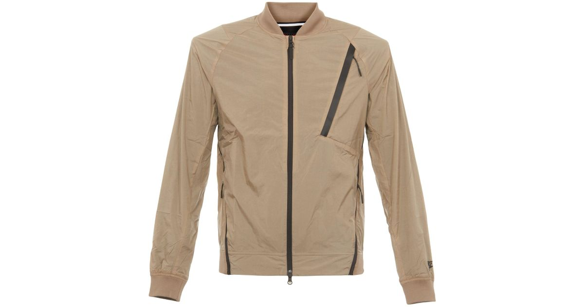 8f8bdde9678b Lyst - Nike Hypermesh Varsity Jacket in Natural for Men - Save 29%