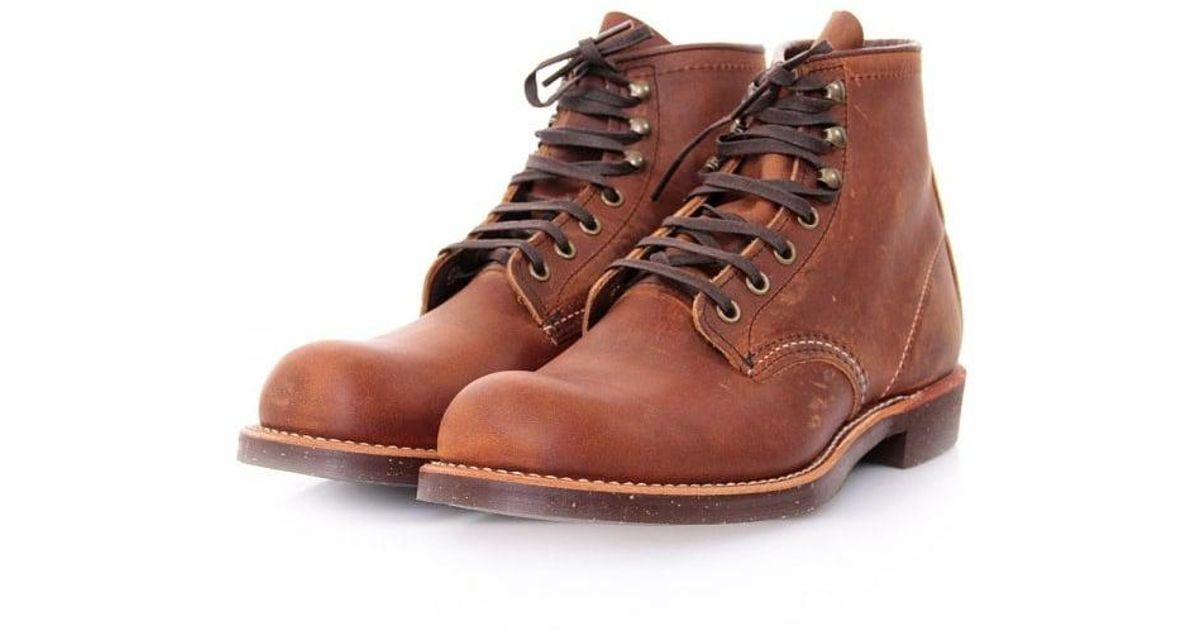 aa48828c130 Red Wing Blue 2959 Blacksmith Copper Boots for men