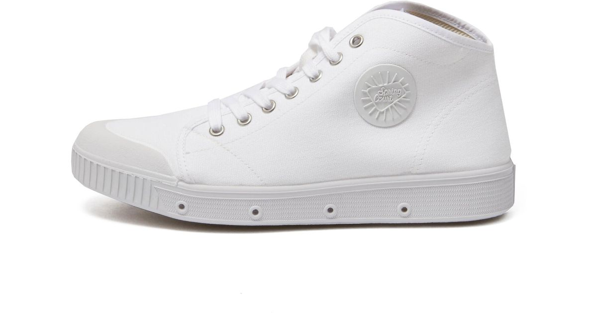 Spring Court B2 Canvas in White for Men