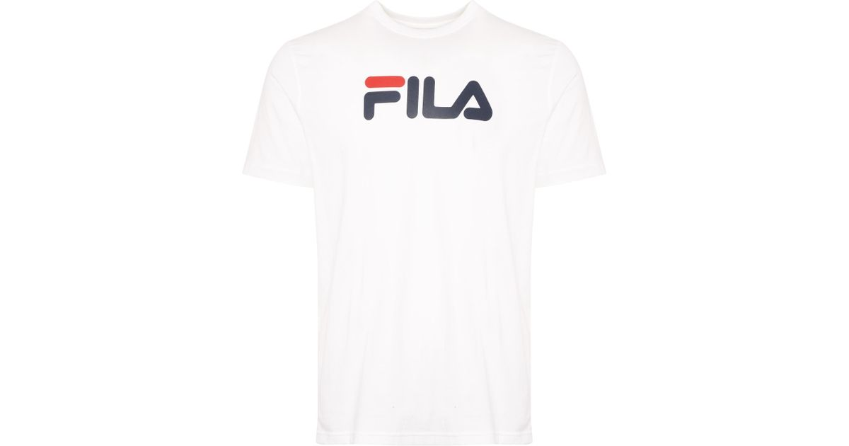 b30c5339a1c3b Fila White Eagle Graphic T-shirt in White for Men - Save 39% - Lyst