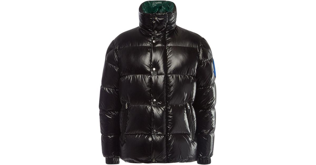 30eb0f421 Moncler Black Dervaux Quilted Down Jacket for men