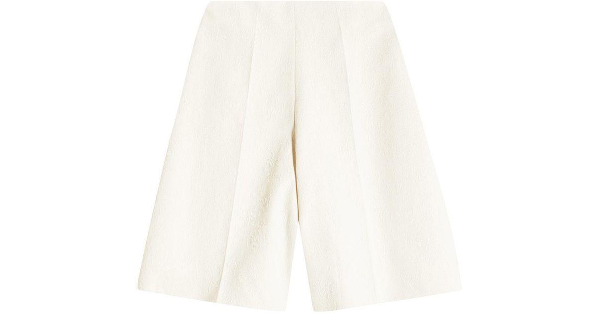 Free Shipping For Nice Cotton Bermudas Shorts Delpozo Best Price xXuhC