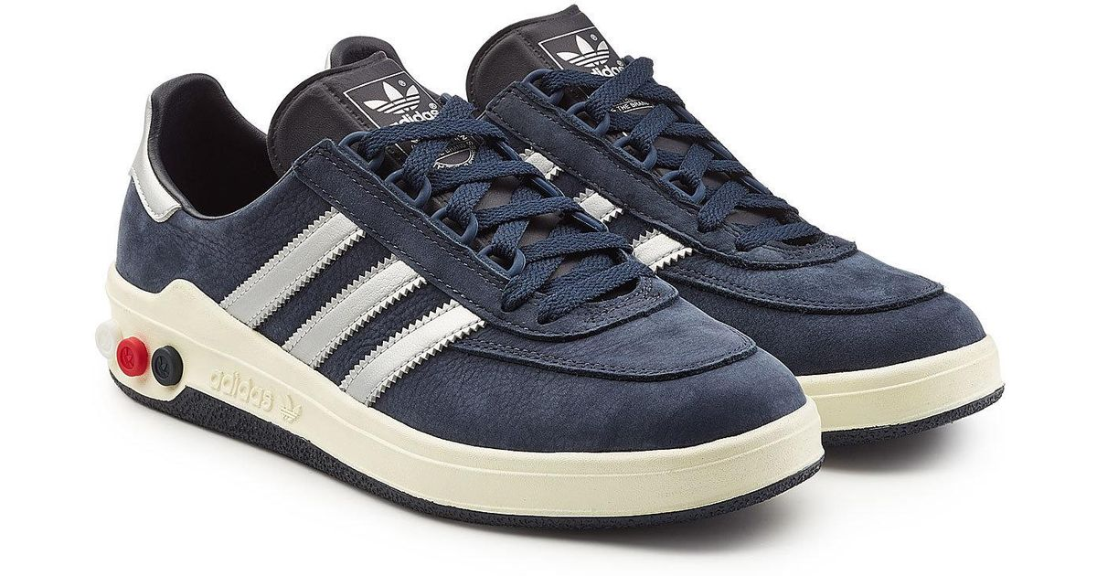 finest selection 88886 d84f7 Adidas Originals Columbia Spzl Nubuck And Leather Sneakers in Blue for Men  - Lyst