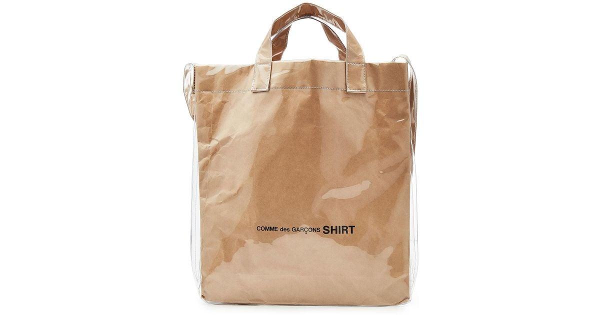 5e9c6d00e Comme des Garçons Paper Bag Messenger Tote for Men - Lyst