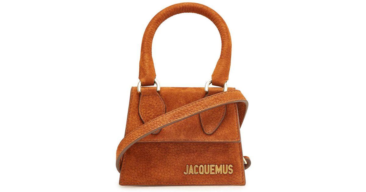 Chiquita Leder Jacquemus Mini Le Handtasche Aus Lyst Brown rhxBsCtQd