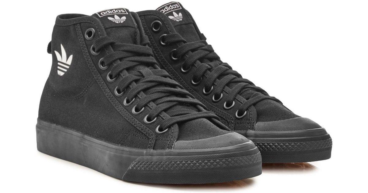 Black Nizza For High Top Adidas Men Originals rCxoWdBe