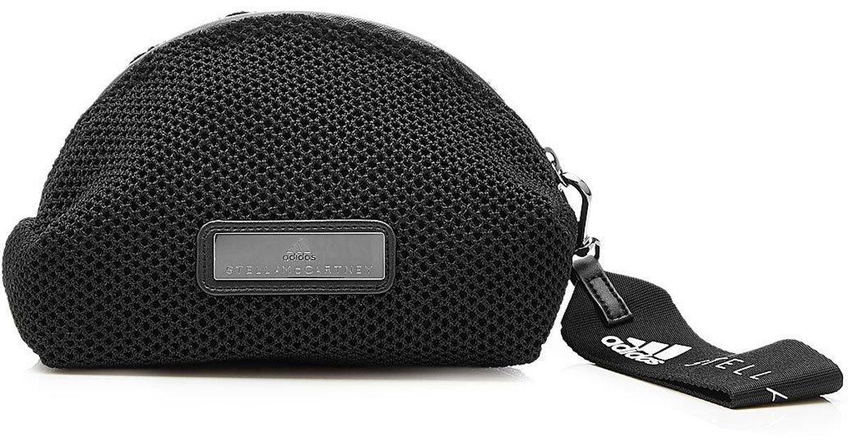 036d047f506 Lyst - adidas By Stella McCartney Mesh Wash Bag in Black