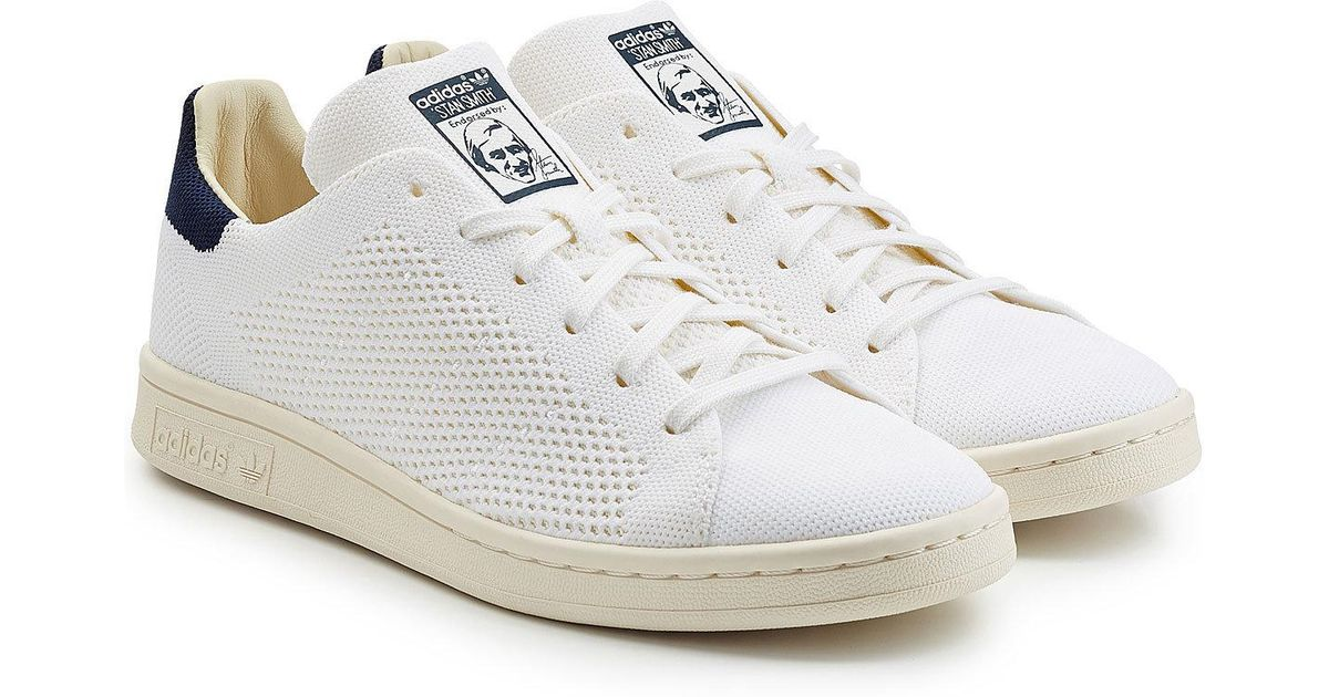 best website a195d 6805d adidas Originals Stan Smith Mesh Sneakers in White for Men - Lyst