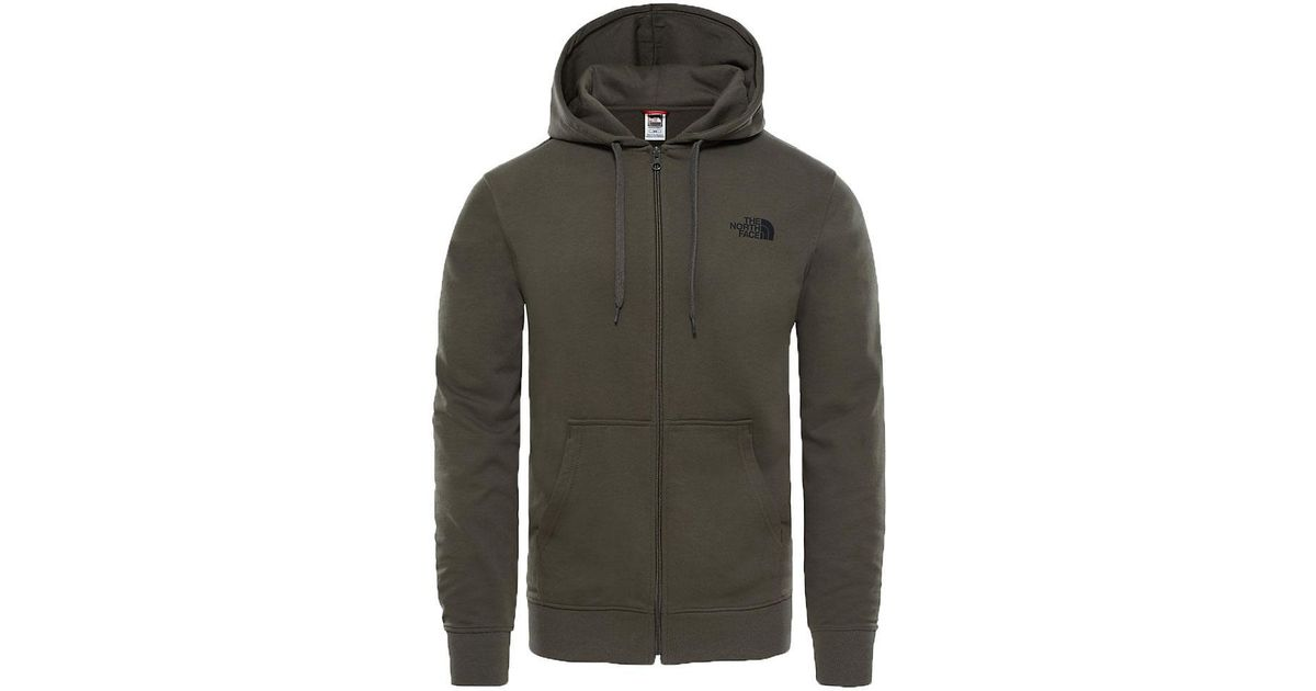 92b0b6fc1 The North Face Open Gate Full Zip Light Hoodie New Taupe Green