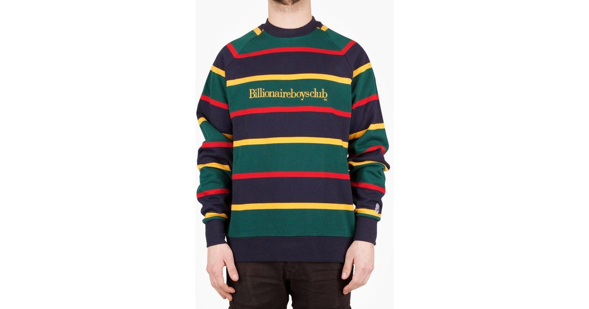 $125 Billionaire Boys Club Men Astro Crew Sweater black