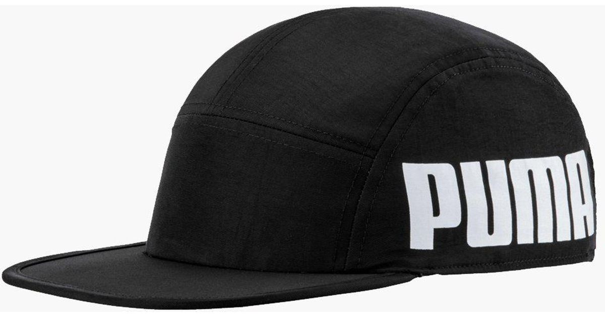Lyst - PUMA 5 Panel Cap in Black for Men 993f4b192b2
