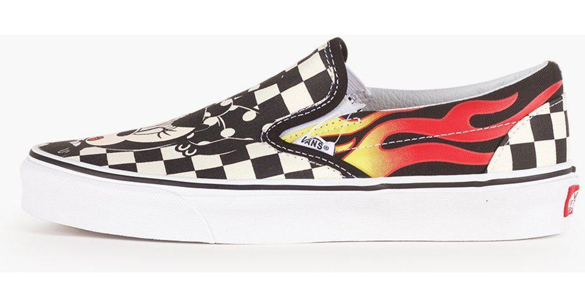 Vans Classic Slip On Unisex Skate Schuhe Low (Disney) Mickey