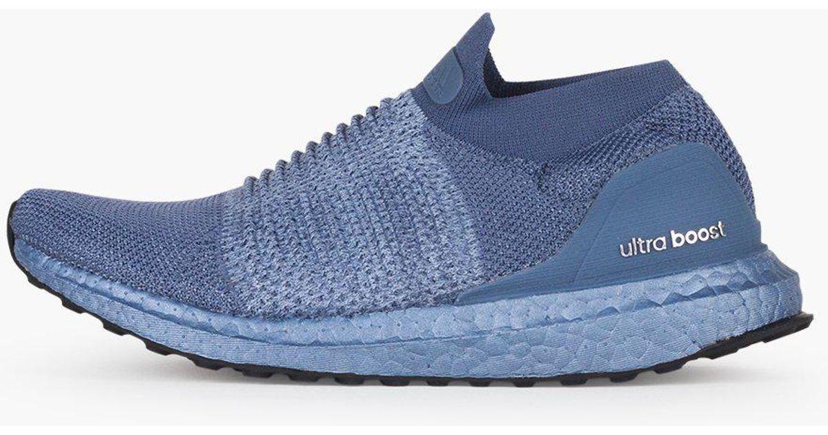 Adidas Originals Blue Ultraboost Laceless Women's