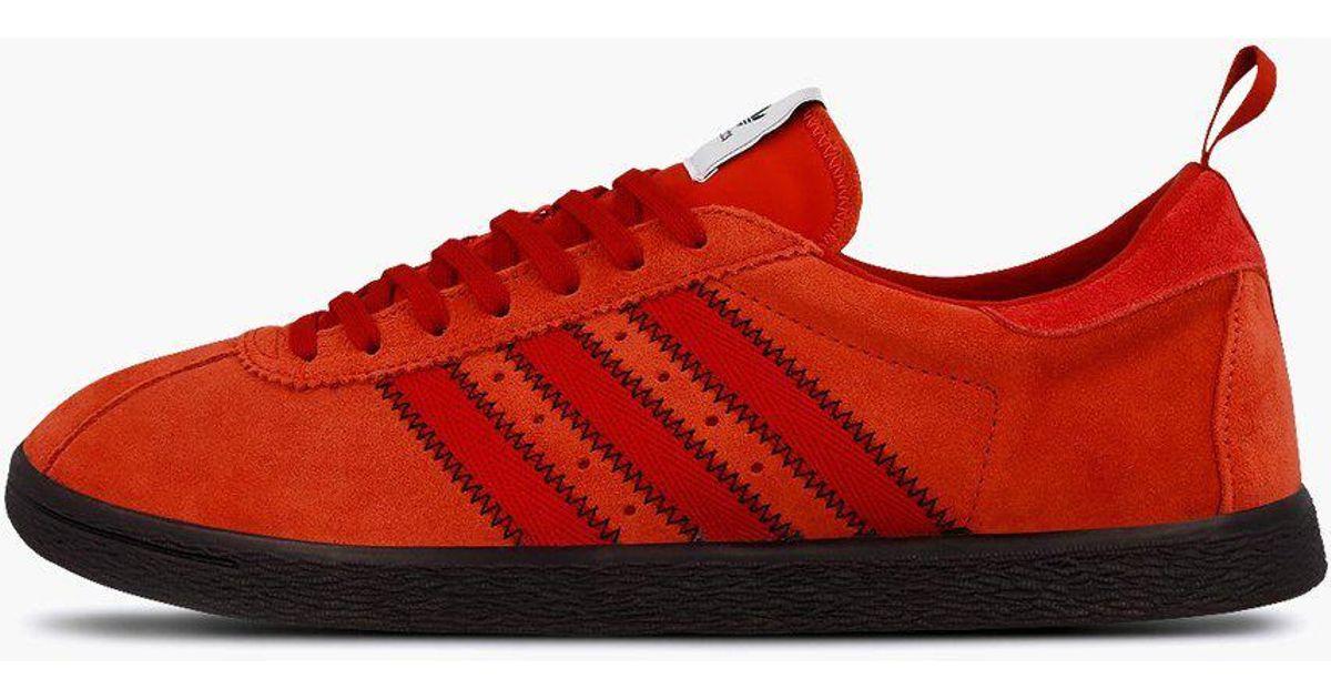 low cost 27949 6ae82 Adidas Originals Red Adidas Originals X C.p. Company Tobacco for men
