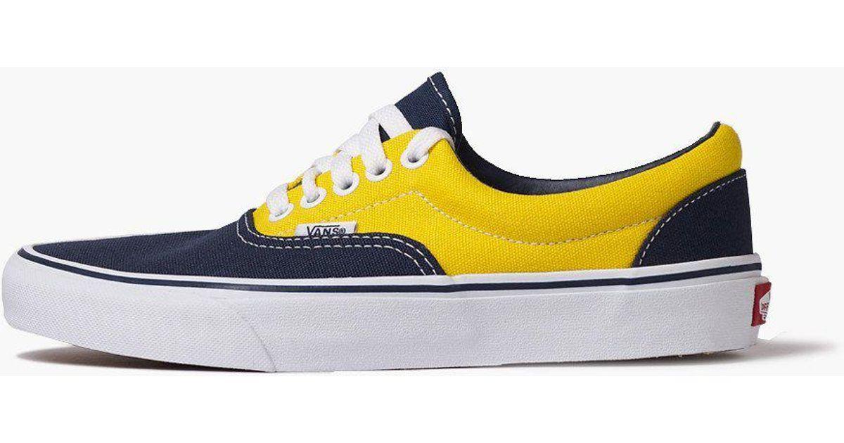 063cd7244a Vans Era (golden Coast) Dpwtr trd in Yellow for Men - Lyst
