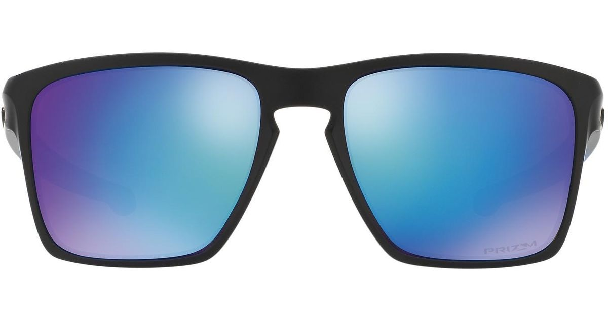 a099e81b49470 Lyst - Oakley Oo9341 57 Sliver Xl Prizm Sapphire in Blue for Men