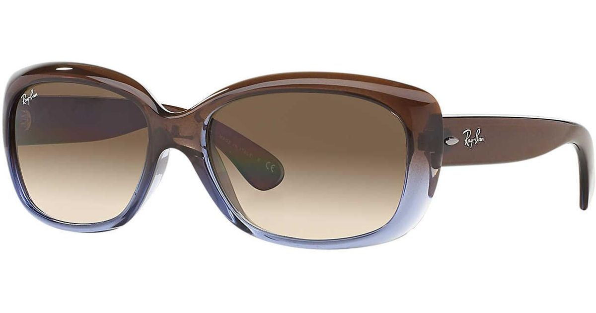 Ray-Ban Sunglass Rb4101 58 Jackie Ohh in Brown - Lyst 5b08bca6868d