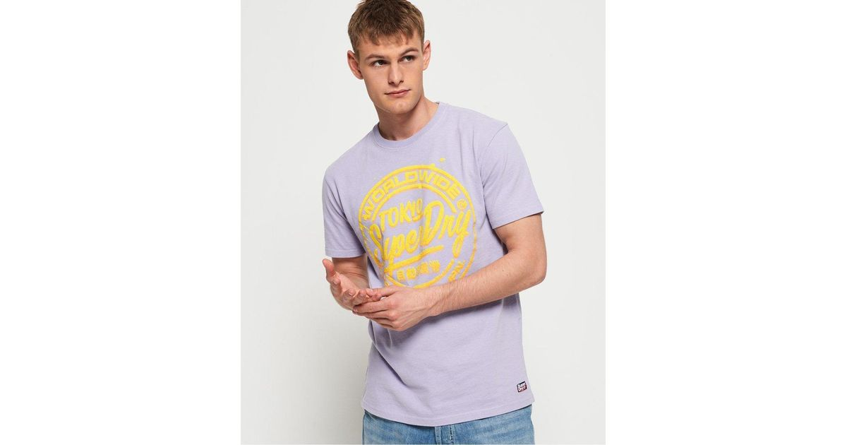 Pastel Squares Purple  Men/'s All Over Graphic Contrast Baseball T-Shirt