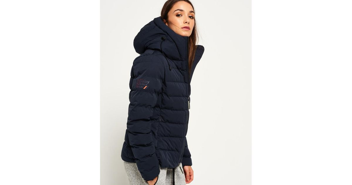 7839a824 Superdry SDX Arctic Hood Jacket in Blue - Lyst