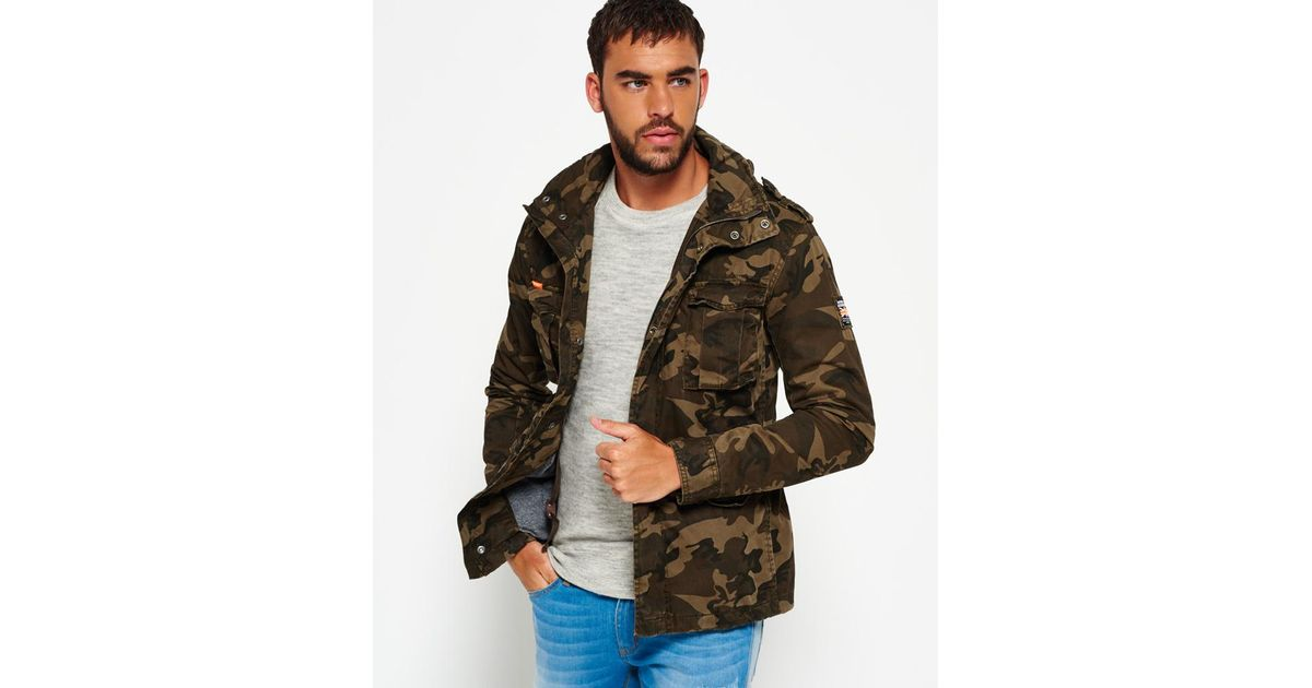 67ccb51511736 Superdry Classic Rookie Military Jacket for Men - Lyst