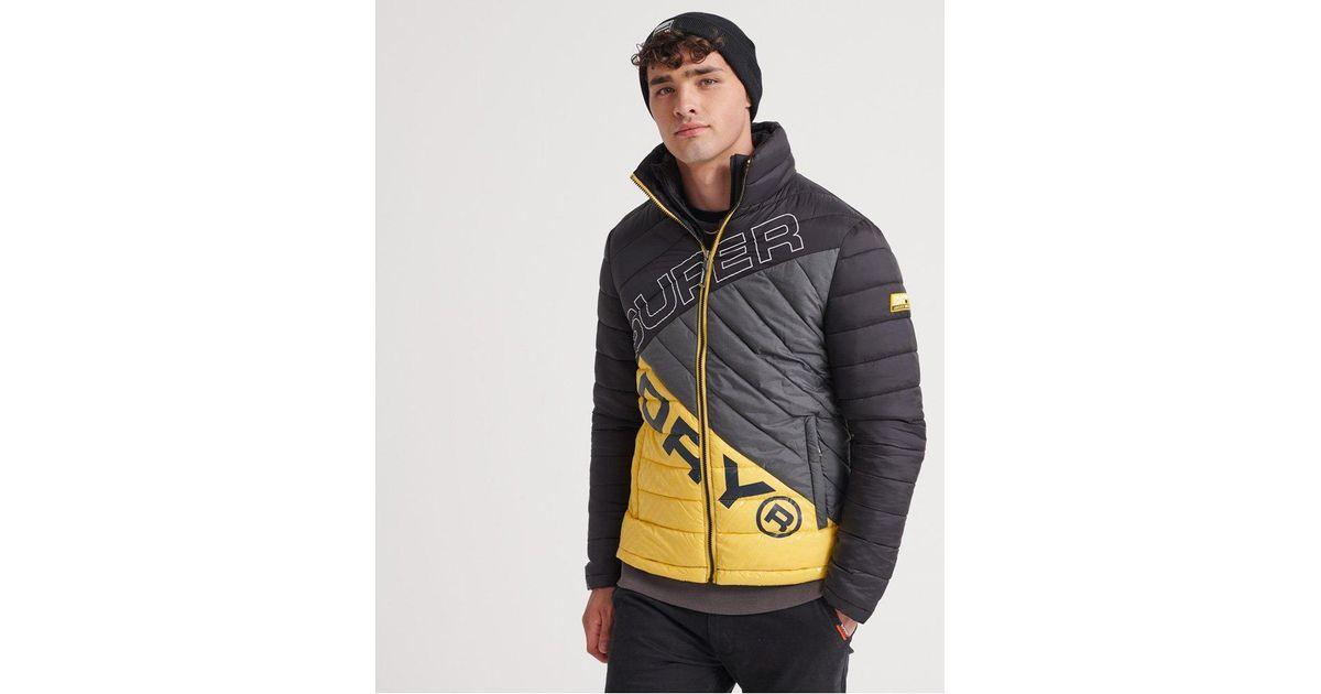 Superdry Mens Micro Quilt Packaway Fuji Jacket