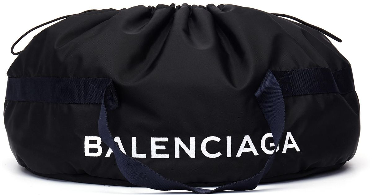 Balenciaga Nylon Logo Basic Duffel Bag aRD6fKL8