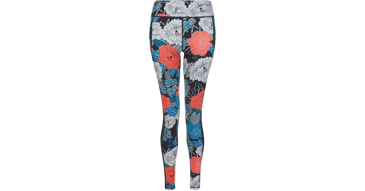 5913ca04e3b8c Sweaty Betty Chandrasana Reversible Yoga Leggings in Blue - Lyst