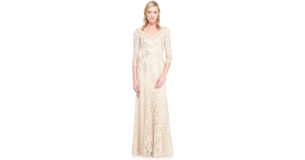 Lyst - Tadashi Shoji Tatiana Evening Gown