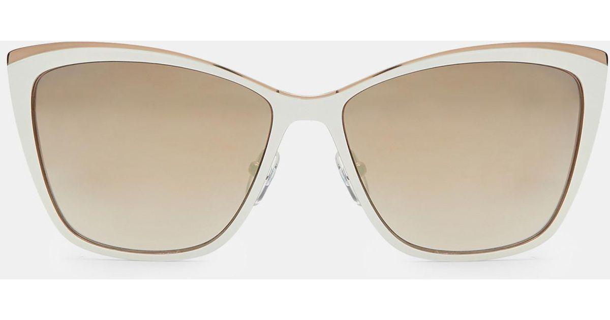 Detalle Metálico Gafas De Sol Del Ojo De Gato De Ted Baker q2NAOQfj