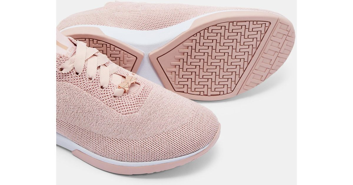 Ted Baker Knit Lurex Detail Trainers in